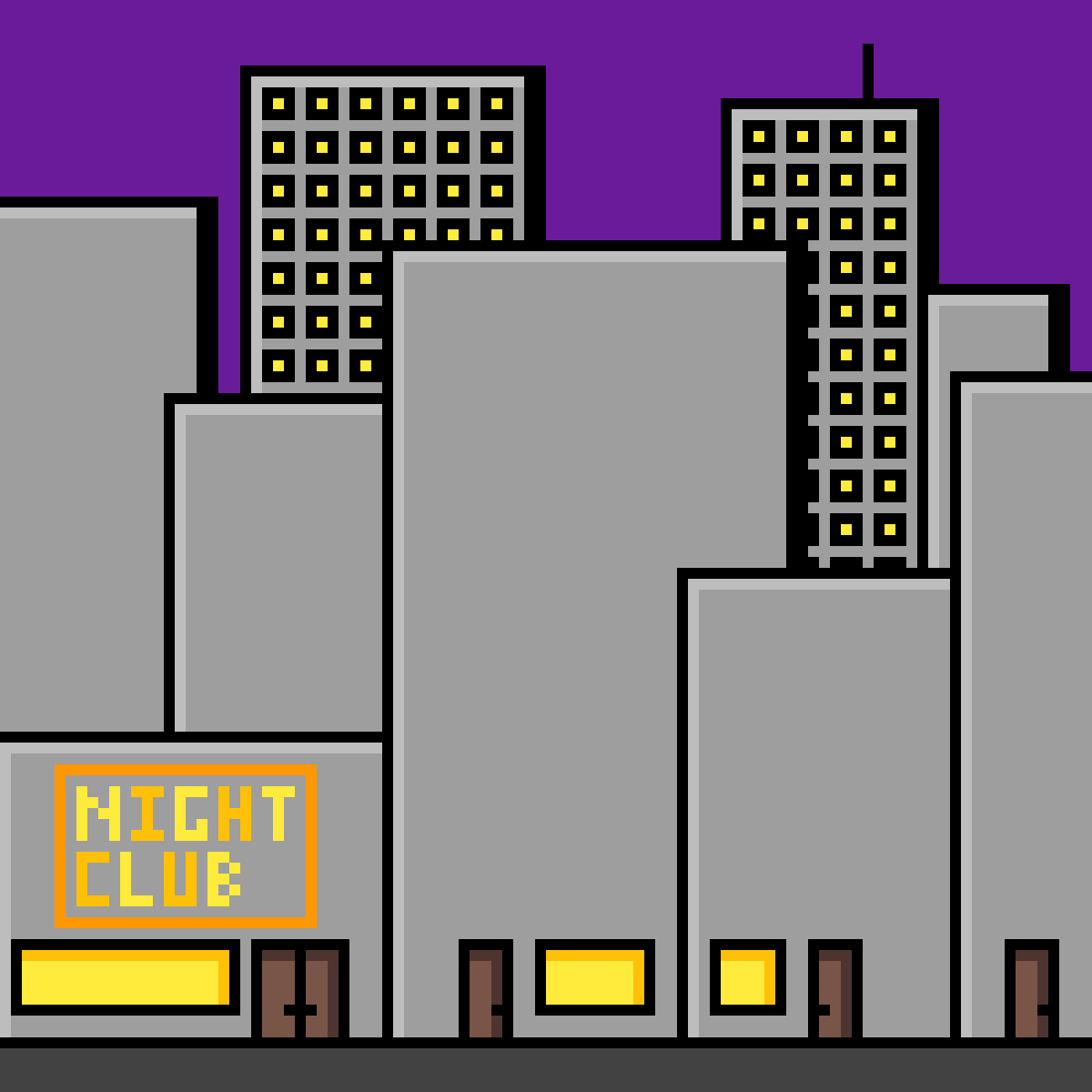 Sunset City by LizardmyWizard