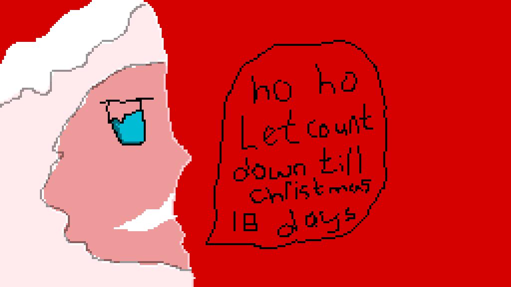 Countdown Till Christmas.Pixilart Countdown Till Christmas By Akiny