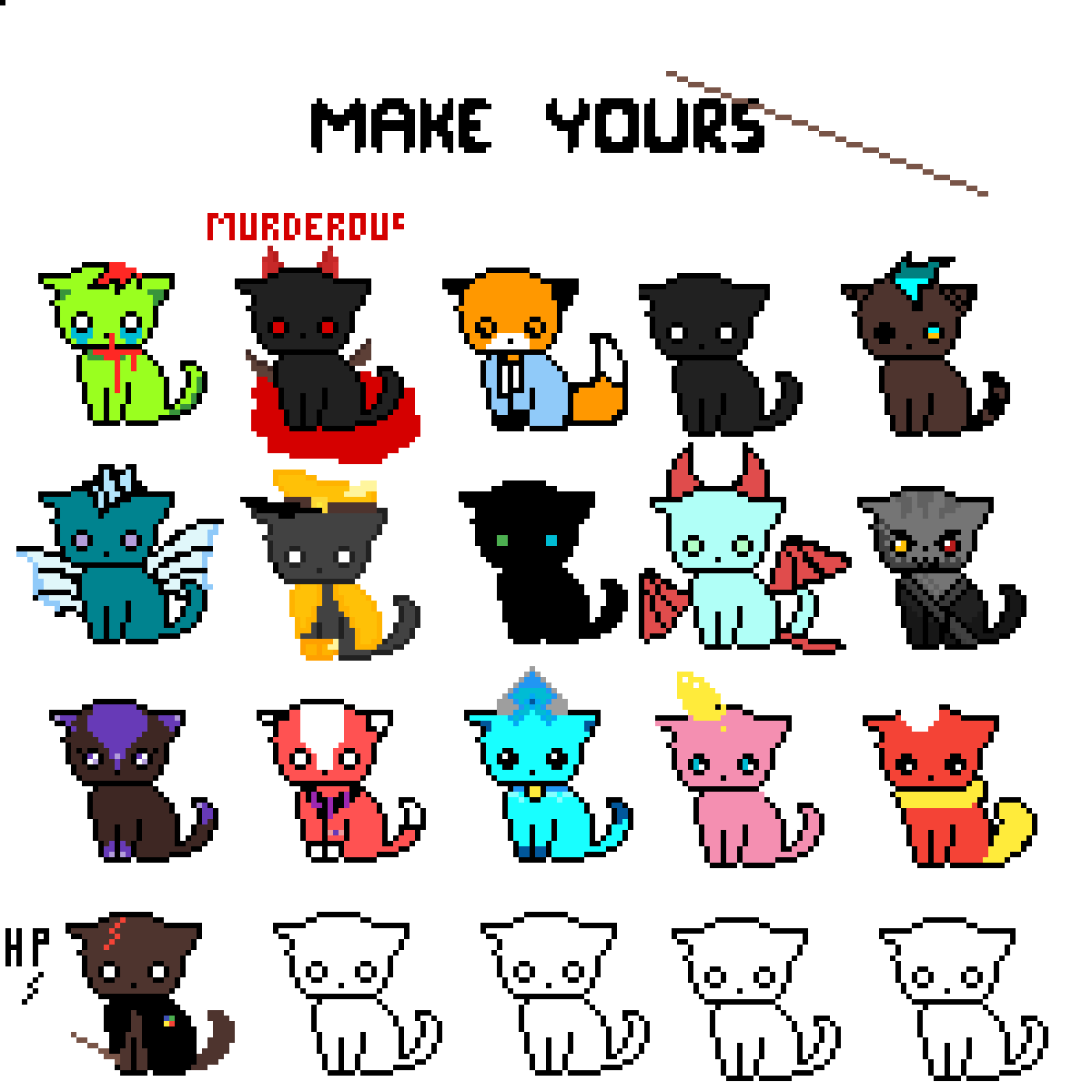 Cats! Make your one by Oeza