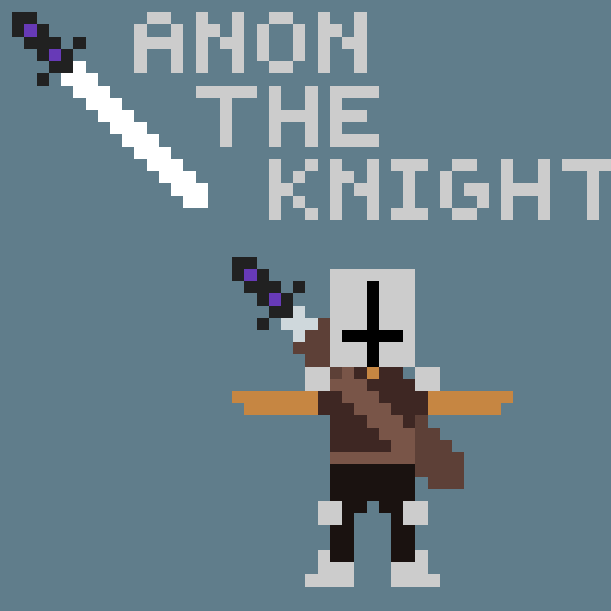 Anon The Knight by The-red-pander