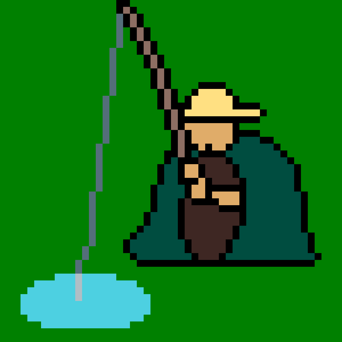 Fishing by PrincessAurora