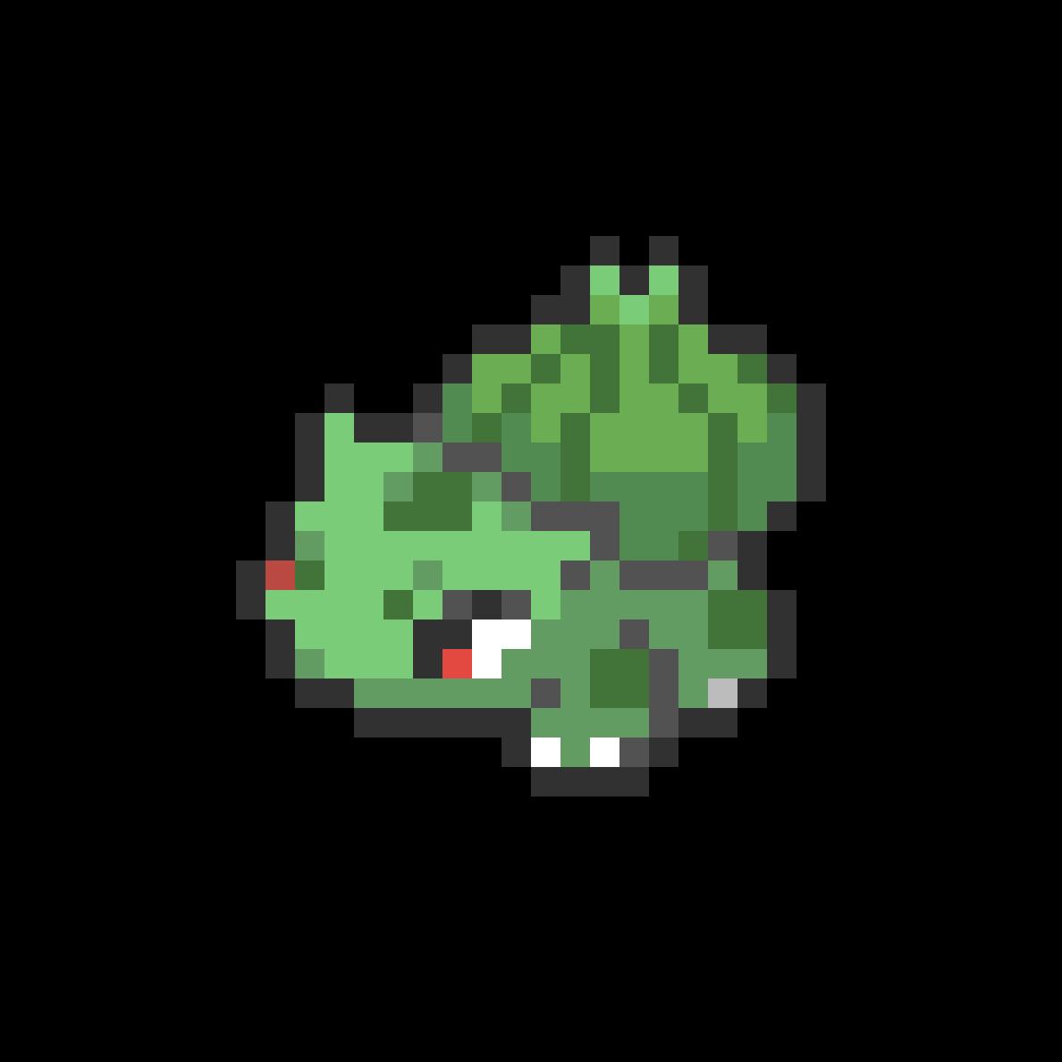 #001 Bulbasaur Mini Sprite