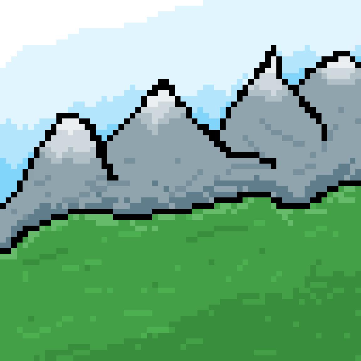 Mountains  by ZaraTheSloth