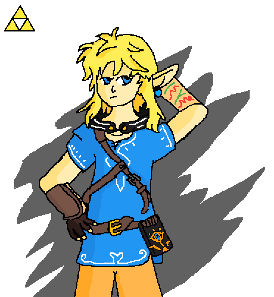 Link by Wolfmastersans