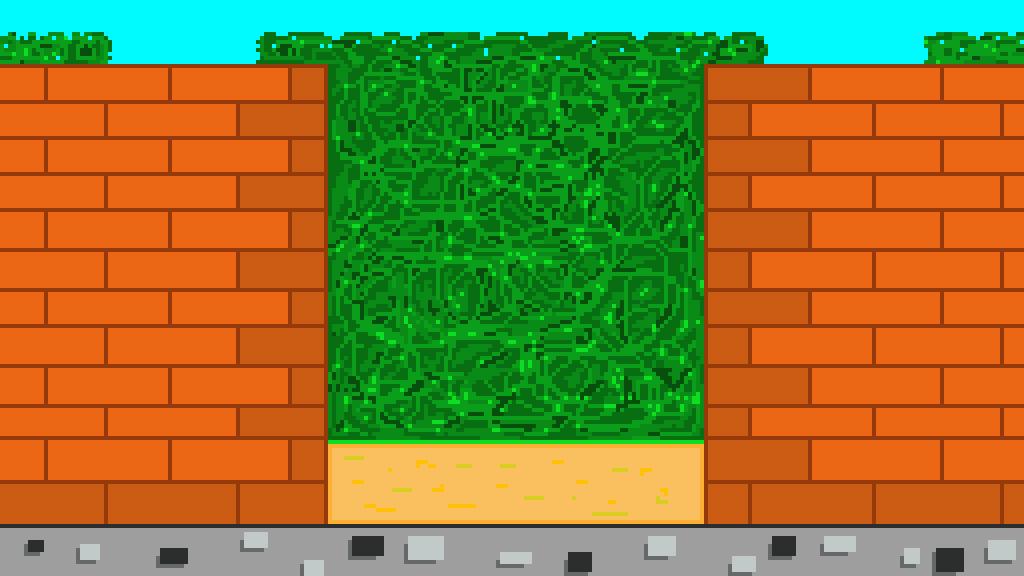 Pixilart Wall Into Garden By Bloodwingedgun