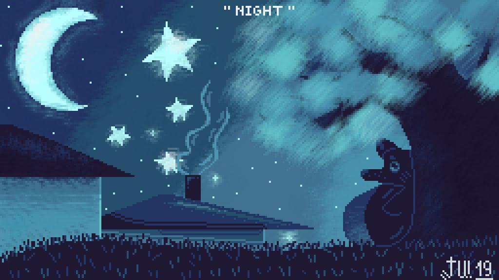 Night by InnaDrawer