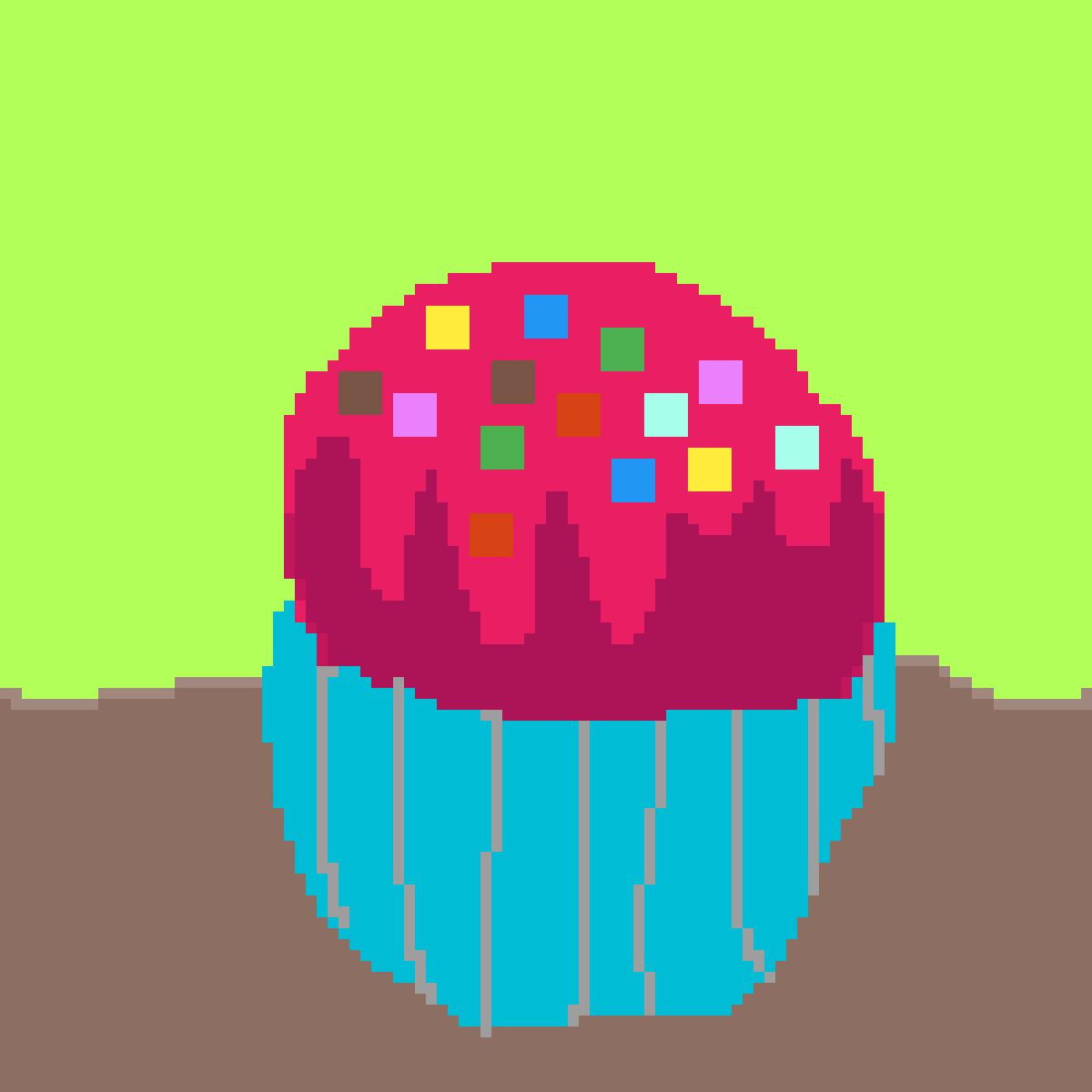 cupcake / ice cream thingy by alebri77