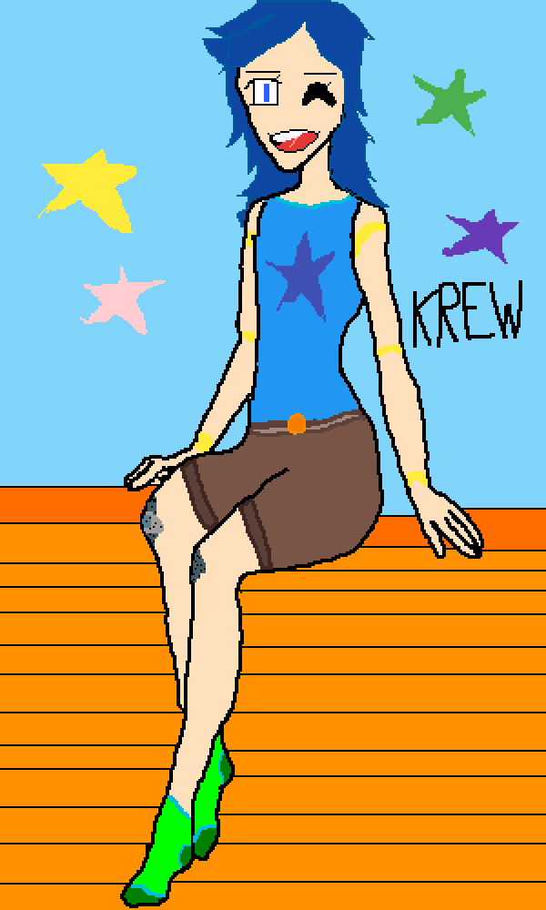 It'sFunneh and the KREW TOGETHER.  :3 by Funneh-Fan