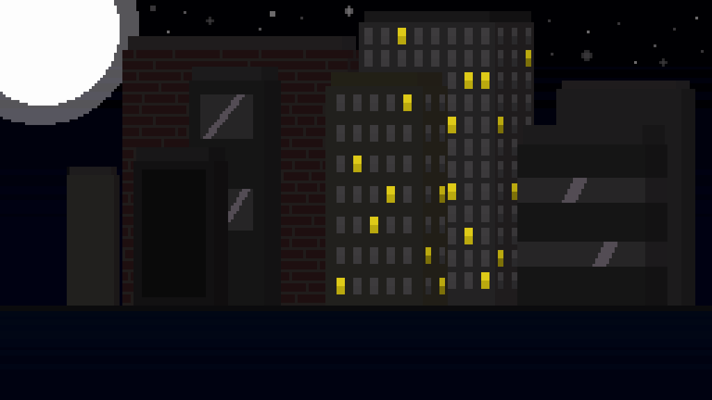 Buildings night 2 by NeonBrush