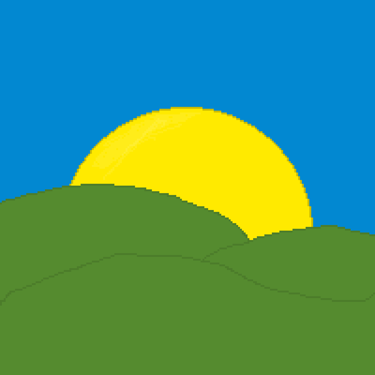 Yellow+Blue=Green :D by MrBilly3585
