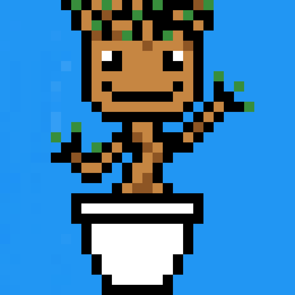 Pixilart Groot Pixel Art By Anonymous