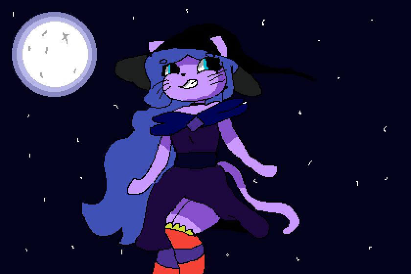 Cat witch♥ by LexSense