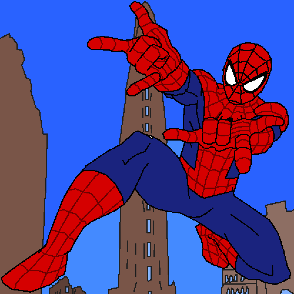 Spider-Man by TheInkDemon