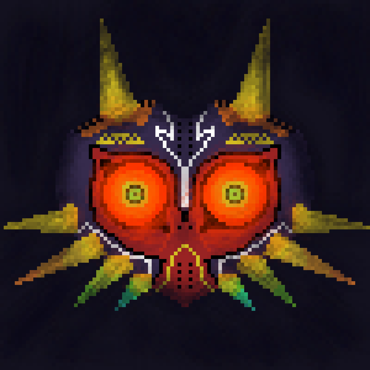 Majora's Mask by ScatteredLeaves