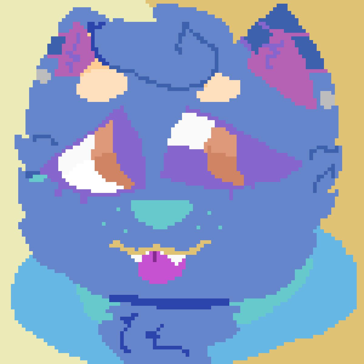 Pastel Pup by demetri