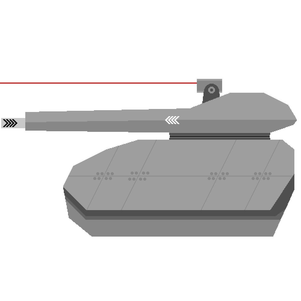 Futuristic tank  by Stormcat