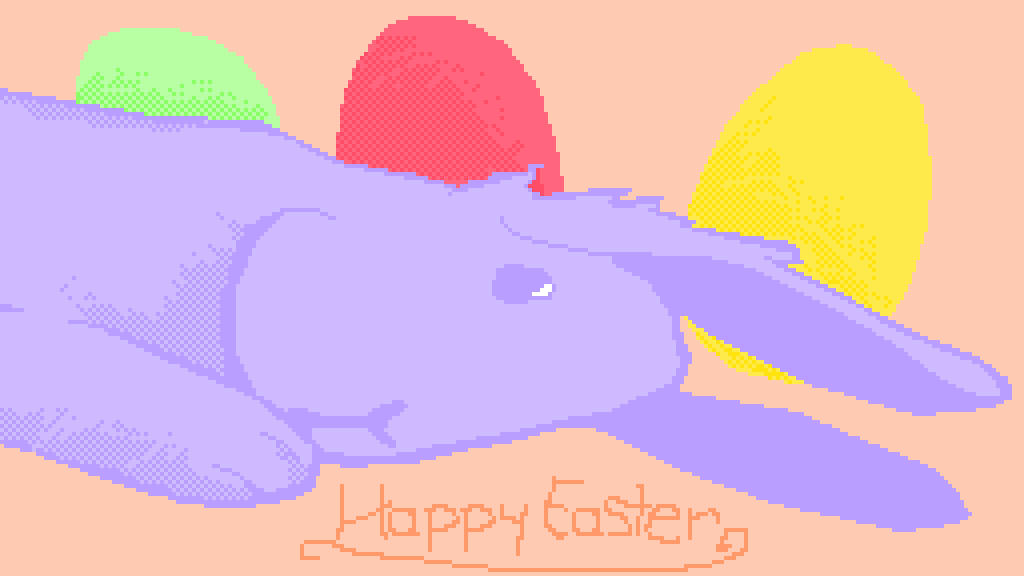 happy easter by BlueCat