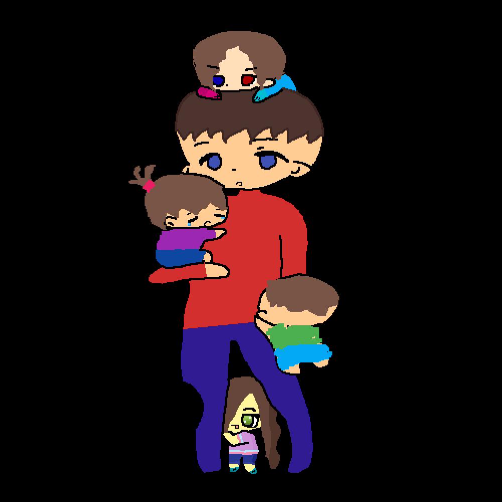 kids by lunarpetal1