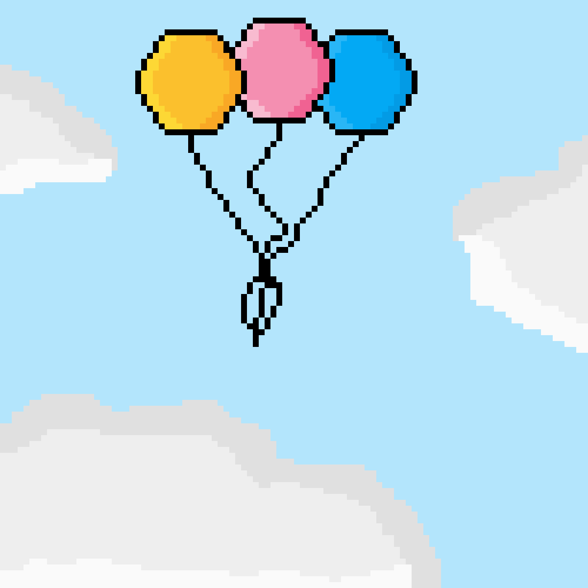 Funky Balloons by DogeDogeDoge