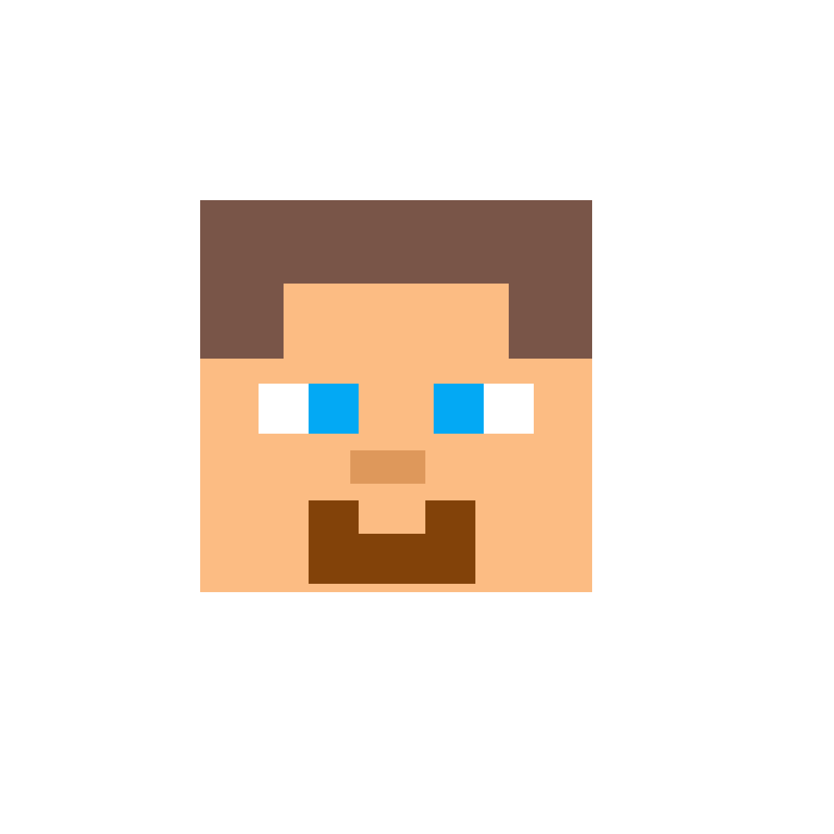 Pixilart Face Steve Minecraft By Anonymous