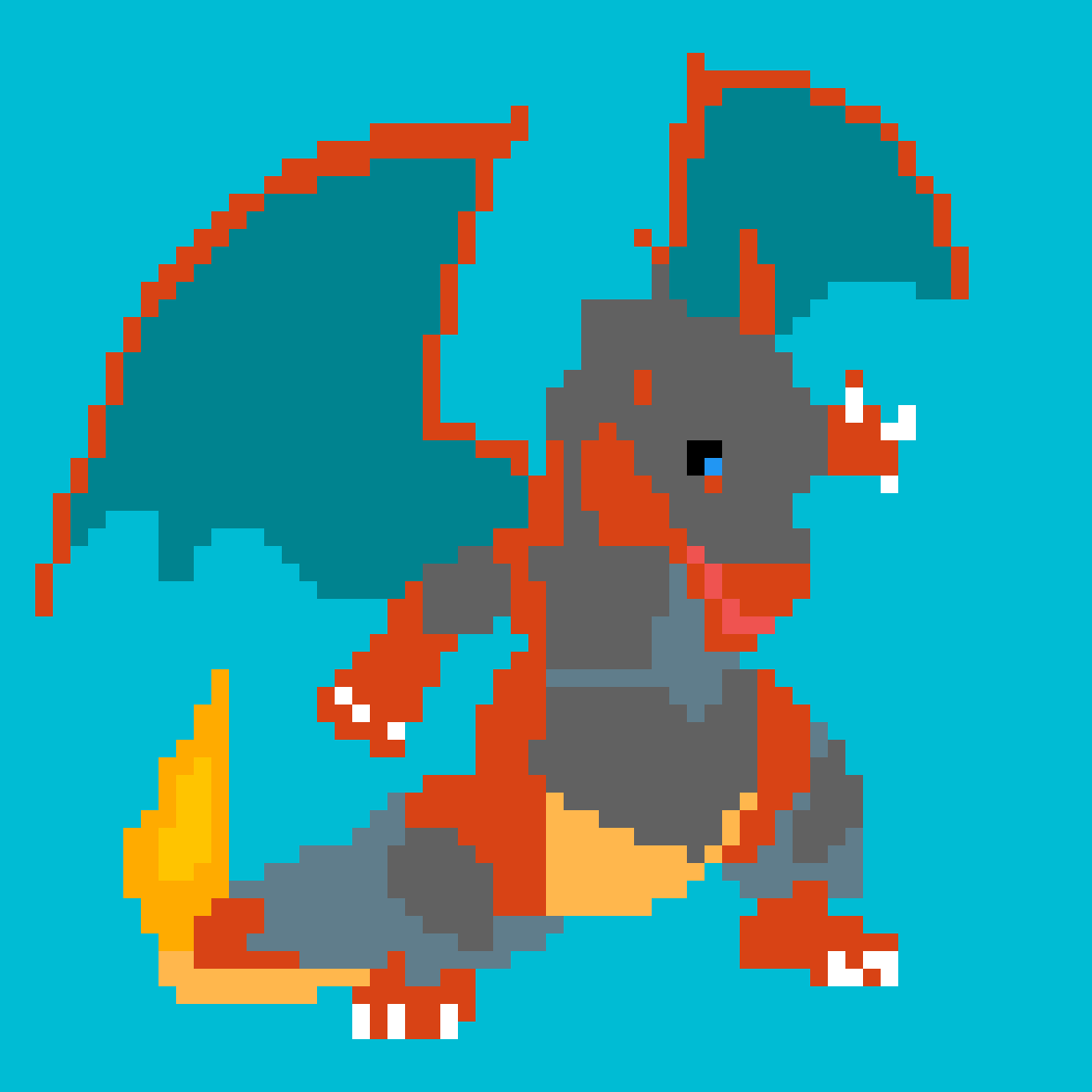 Armoured charizard by Willucario