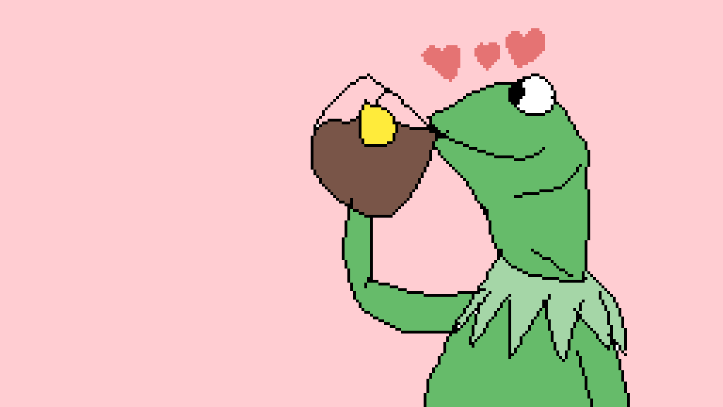 i have not posted in a while so have a kermit by supercute