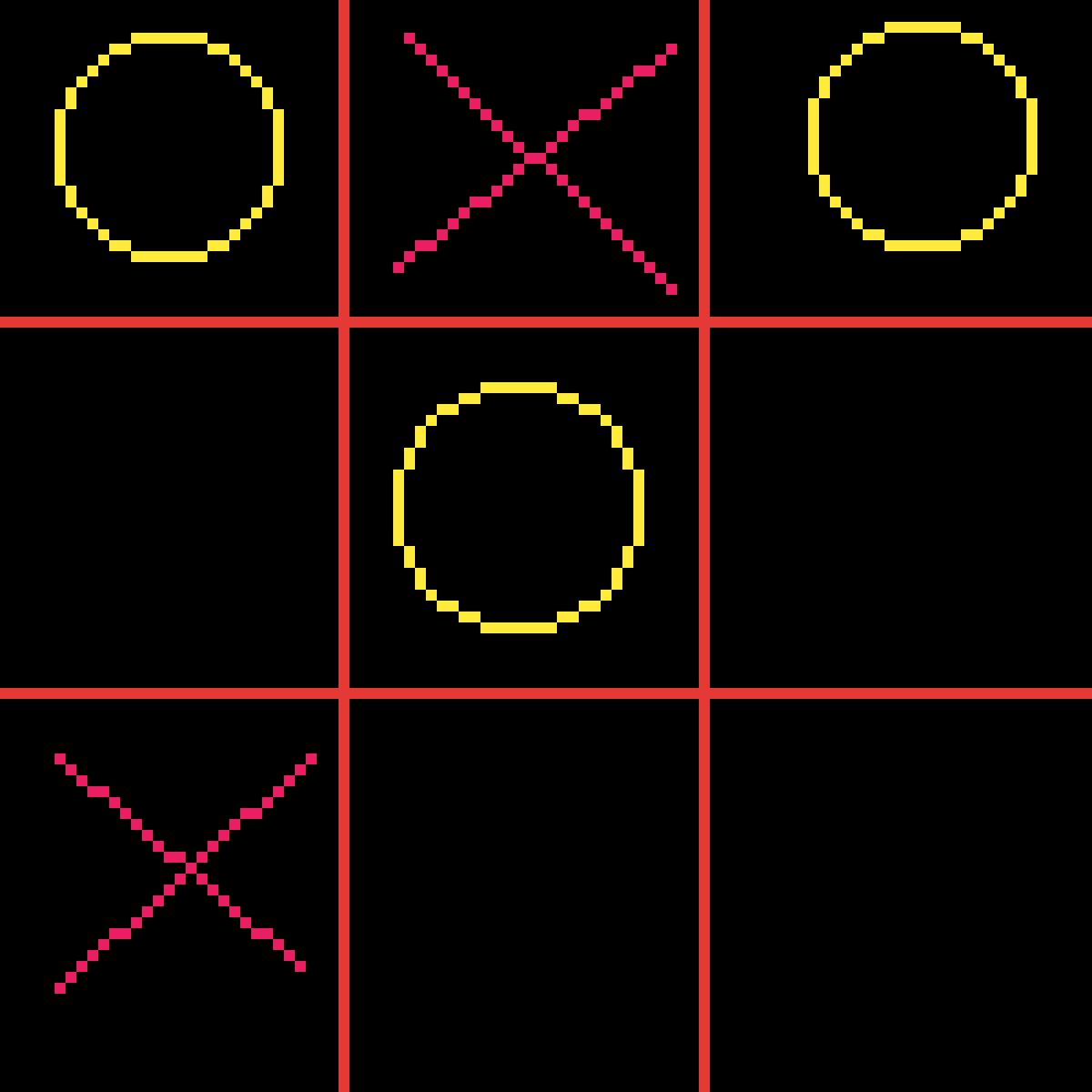 Tic Tac Toe by Minecraftwolf92