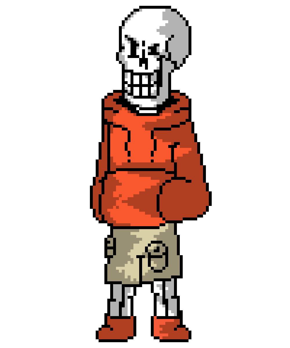 UNDERSWAP Papyrus Shaded by Compact