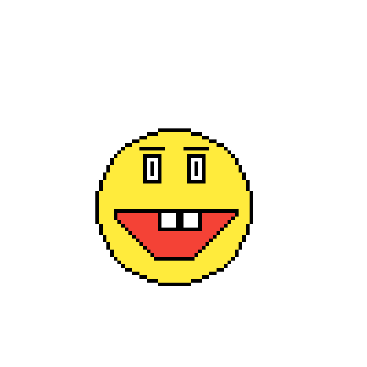Pixilart Emoji Face Xd By Elsuciodan12