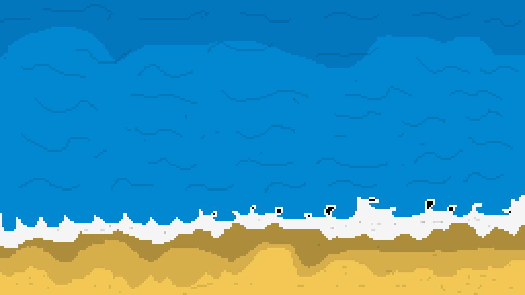 sandy beach by marshmellowlord