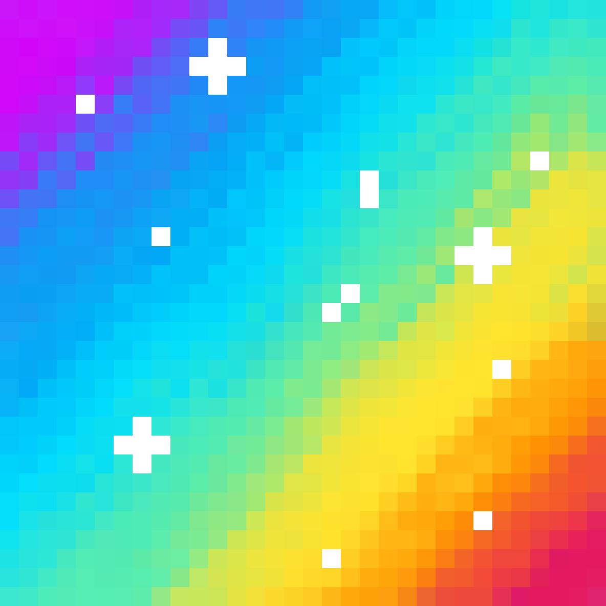Zoomed in rainbow by yeeangel