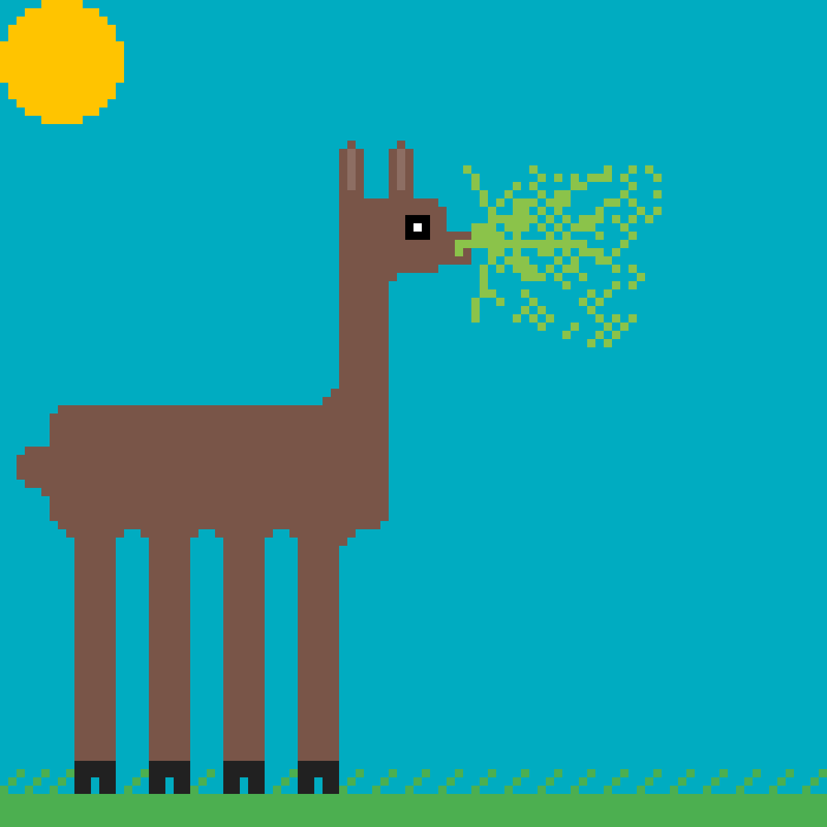Alpaca Spit by Bnus