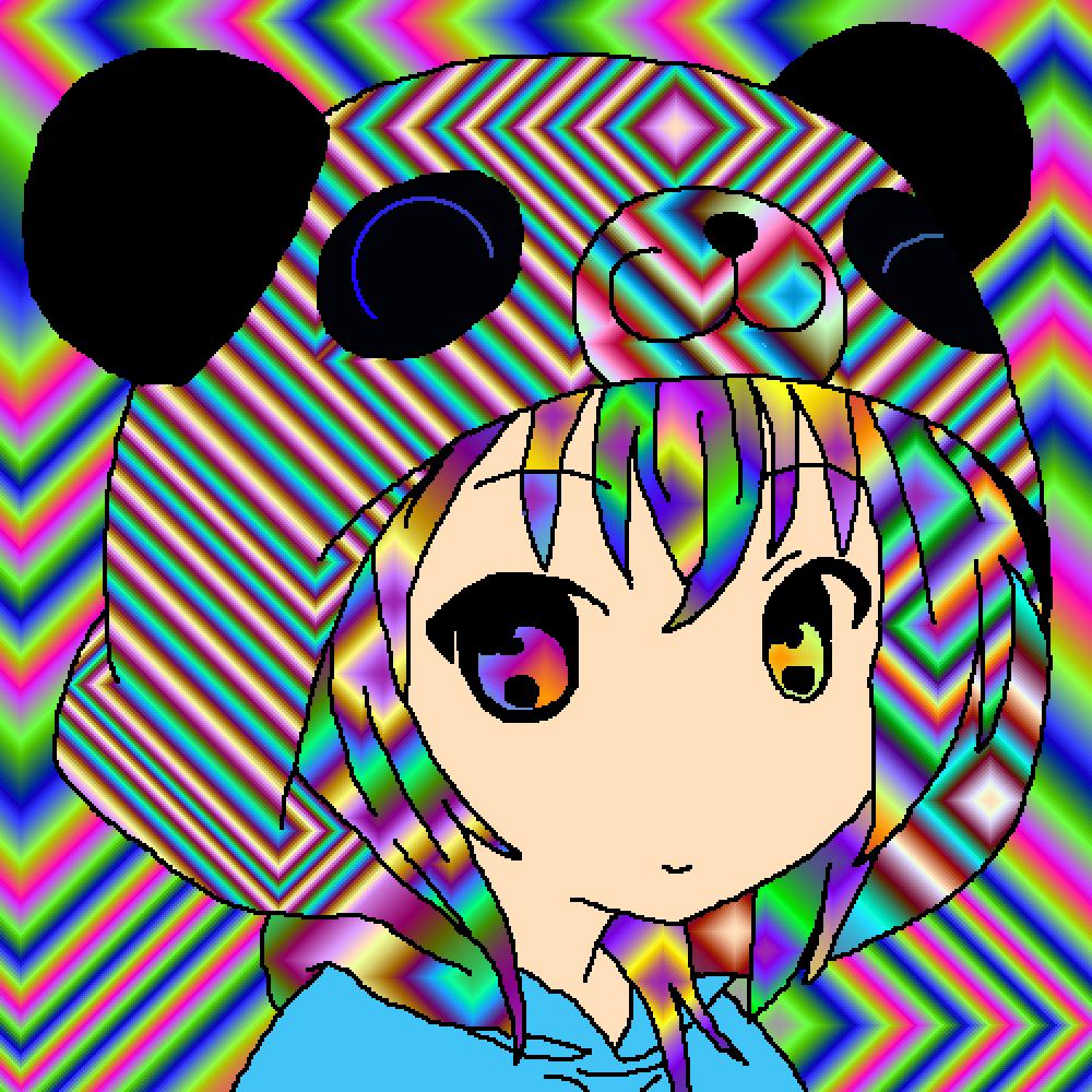 Rainbow Girl by Oliviaolivia