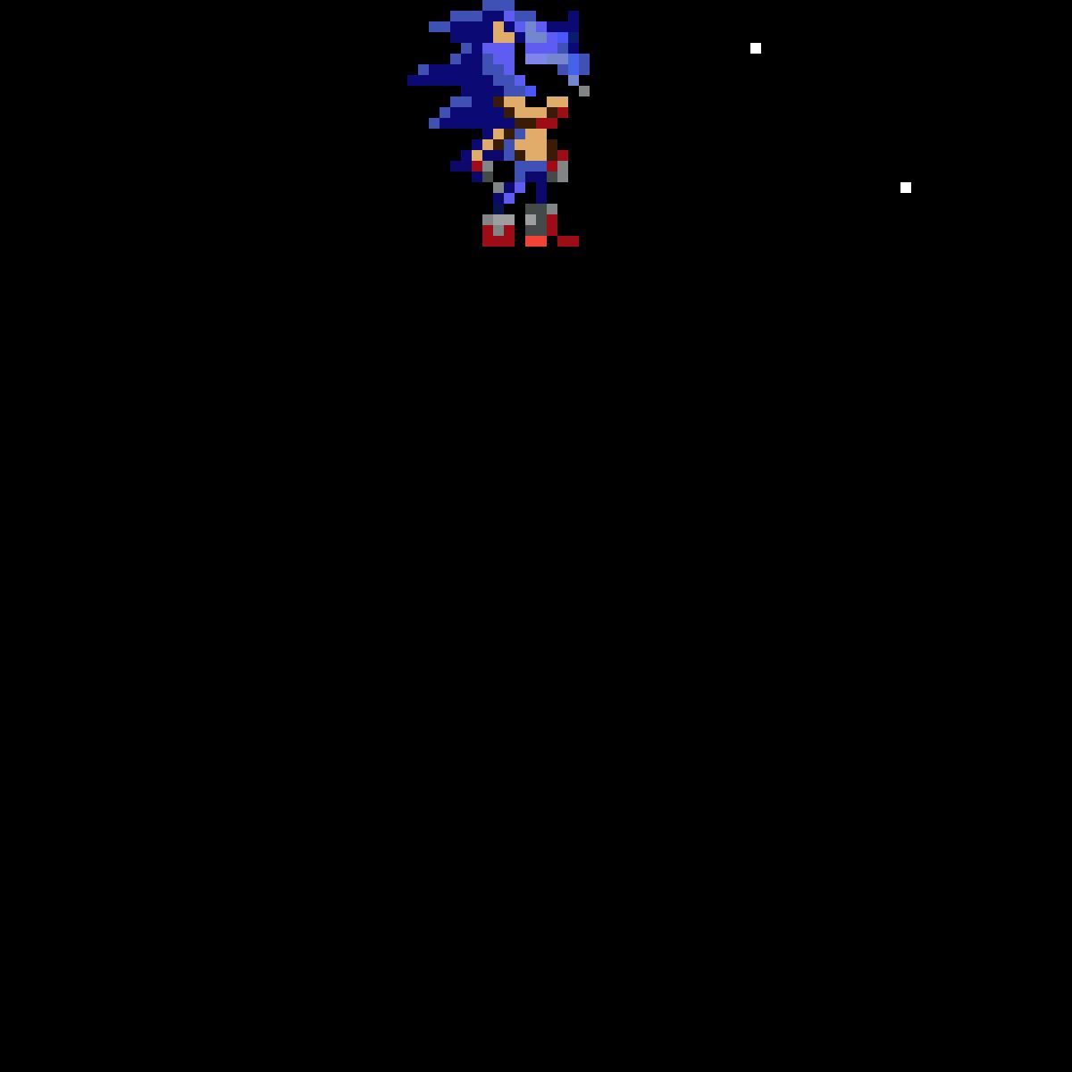 Pixilart Sonic The Hedgehog Pixel Art Finished I Tried By Rentokusama