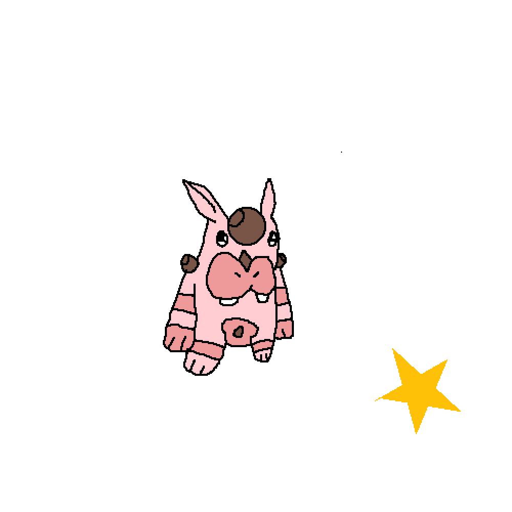 #9:Shiny Kabpuop by OrangeJuice1515