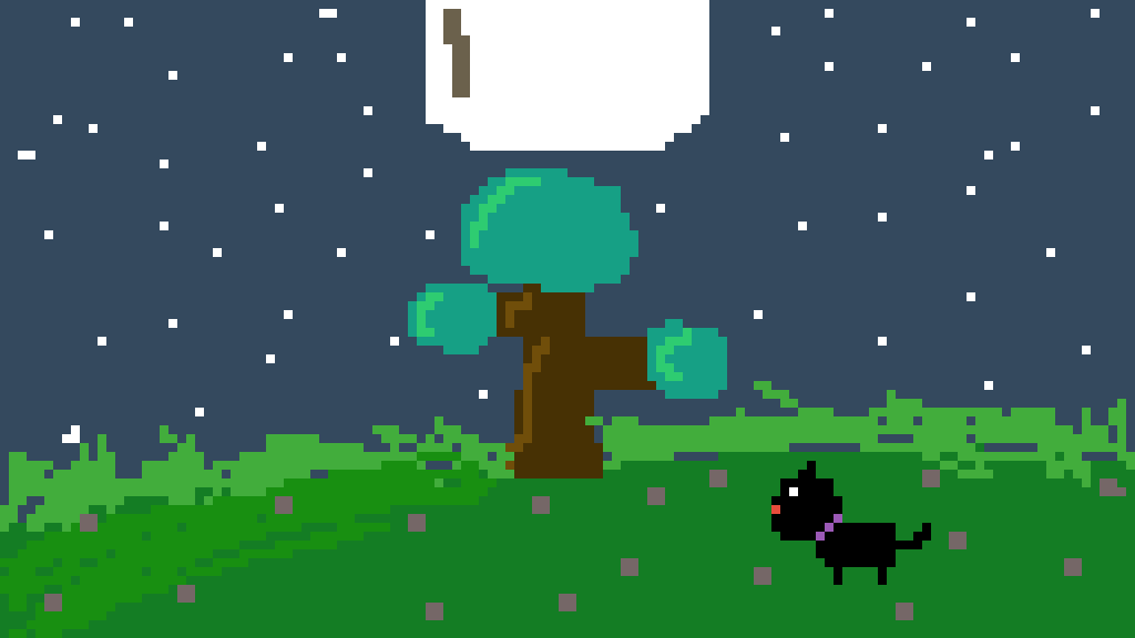 MY FIRST PIXEL DRAWING by XDaniTheCatX