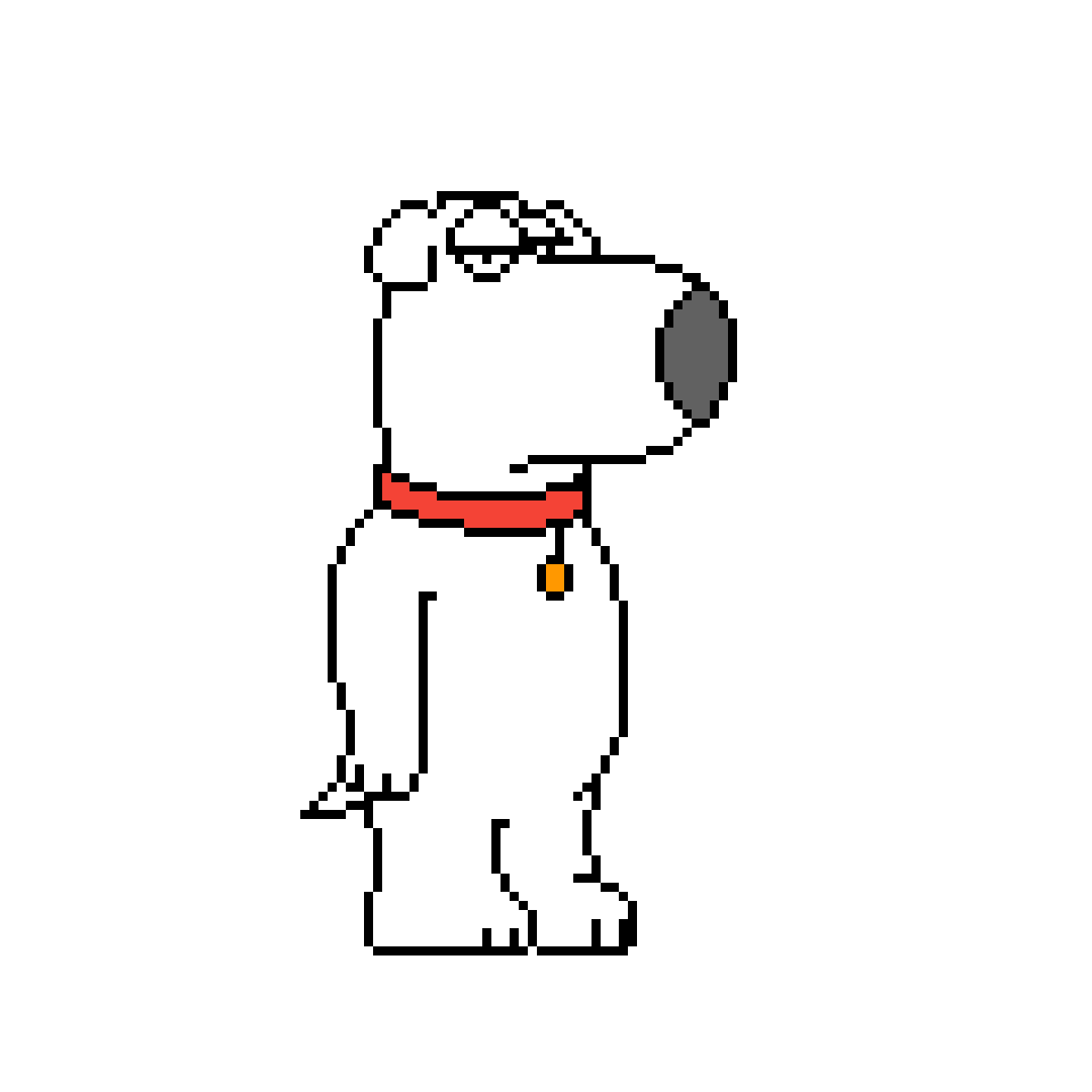 Pixilart Brian Griffin By Awesome1245