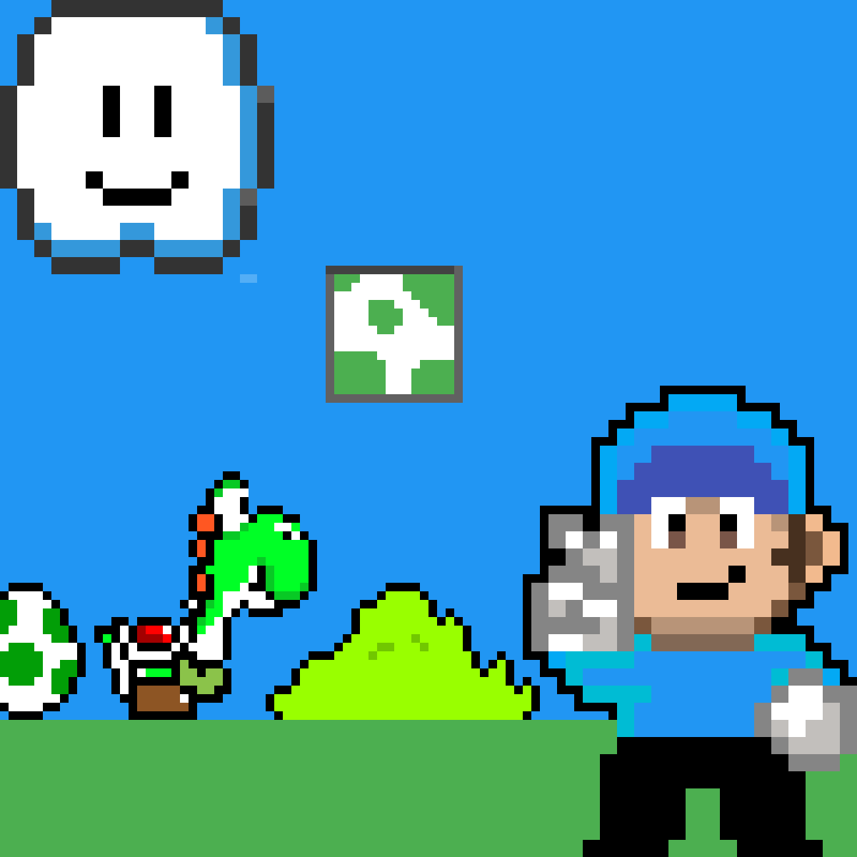 yoshis crafted portada by emicrak-pro99
