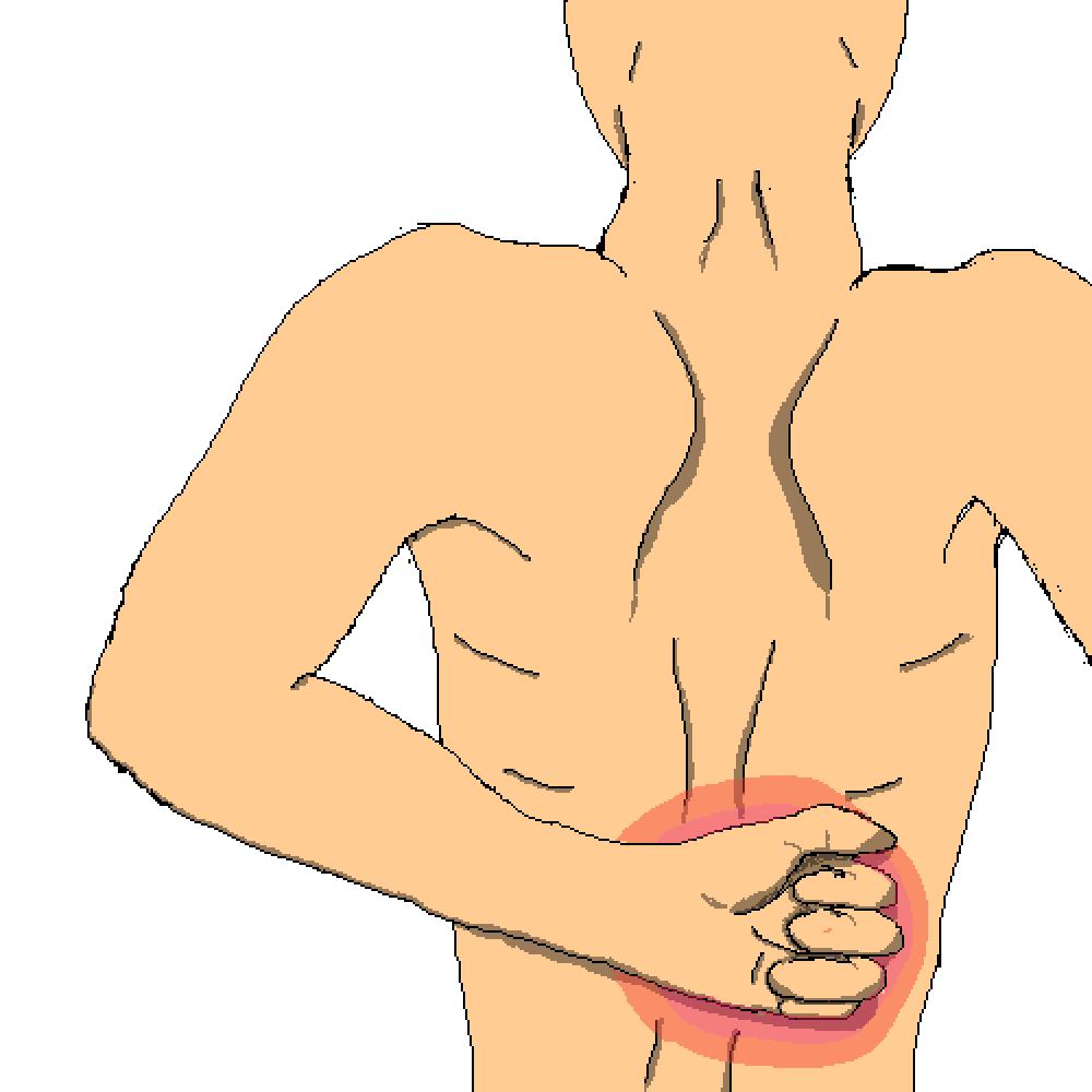 Chronic Back Pain by MR-FIREY