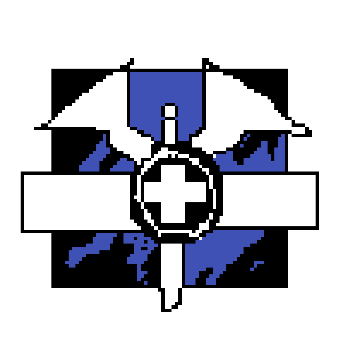 Pixilart - the doc icon r6 siege by Snipest