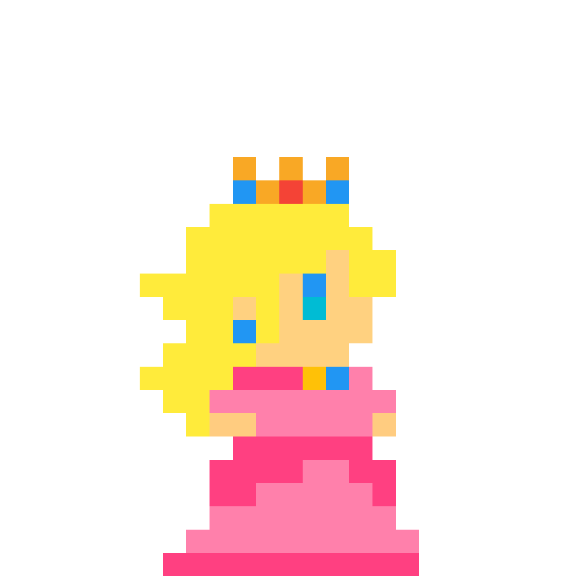 Pixel Peach By Anonymous