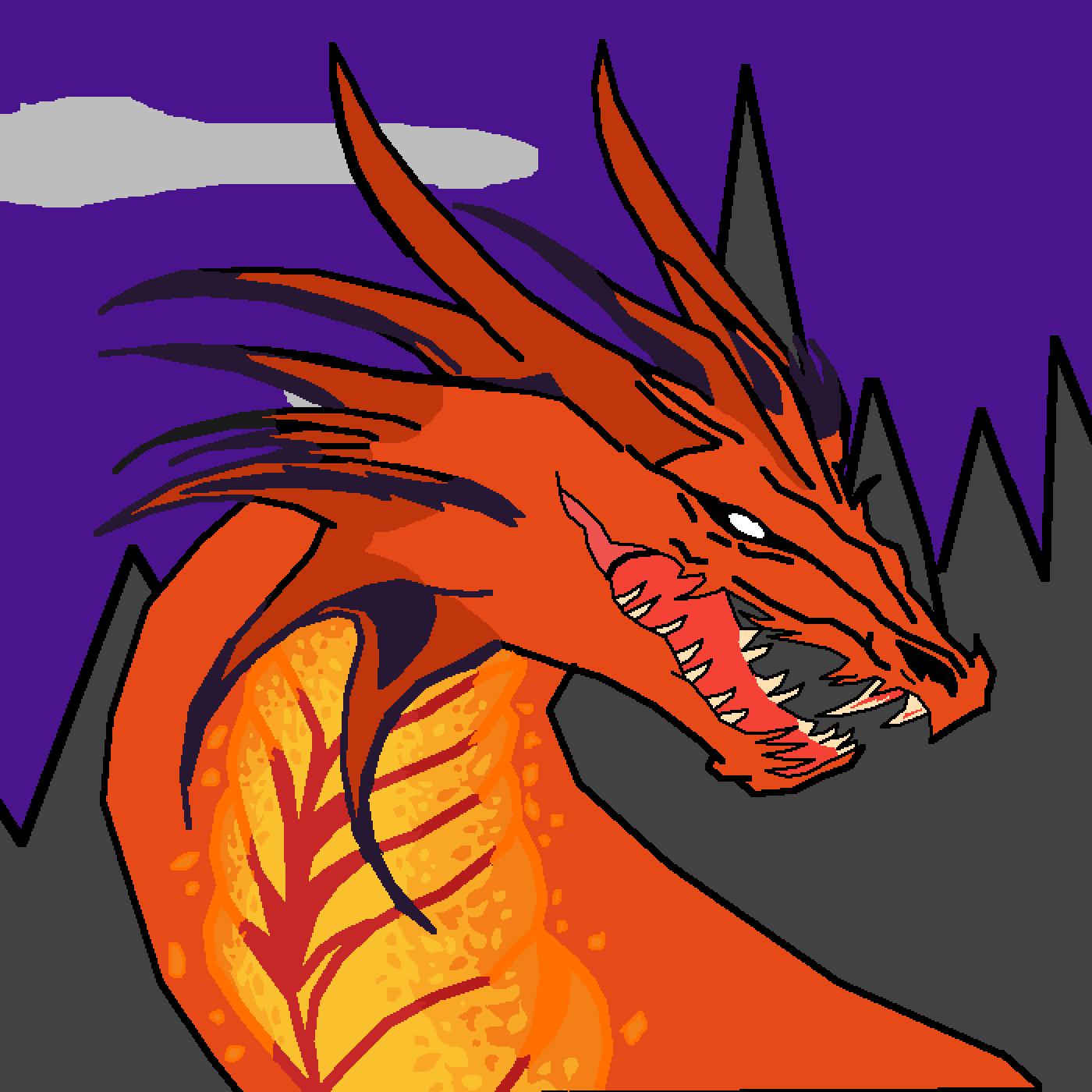 dragon by firestar
