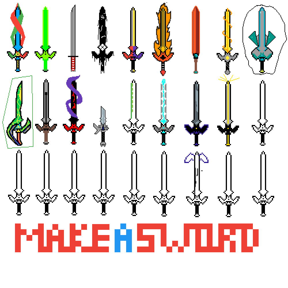 make le sword by ILikeOldMemes