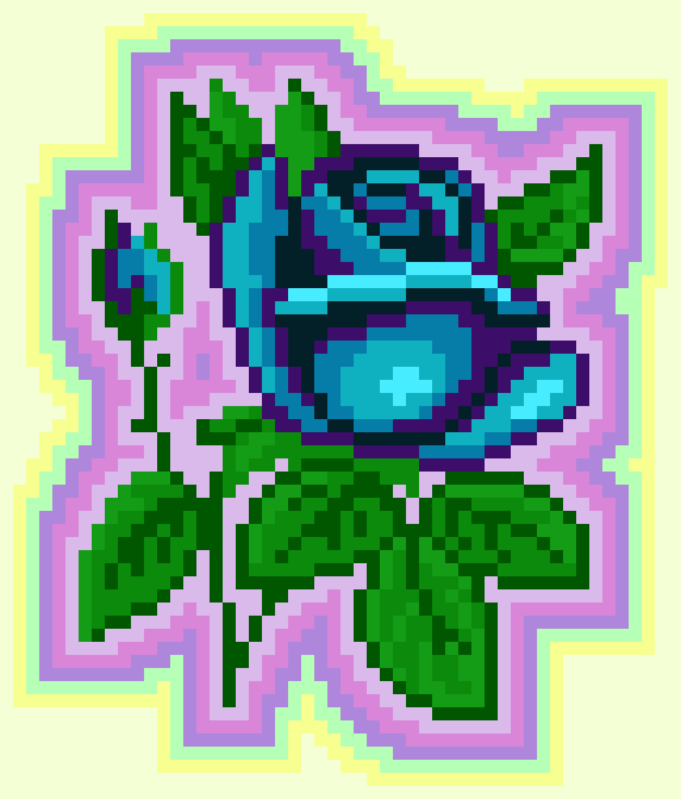 Blue Rose by realmoose