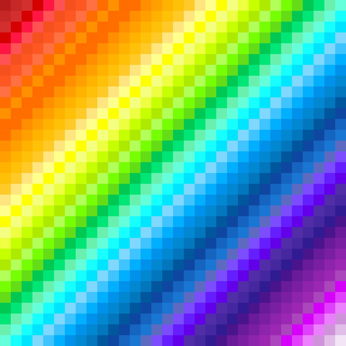 main-image-rainbow waves  by OOPSIE