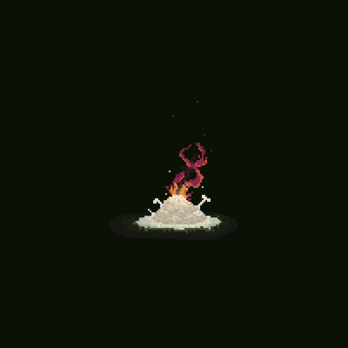 main-image-Dark Souls Bonfire  by PixelBird