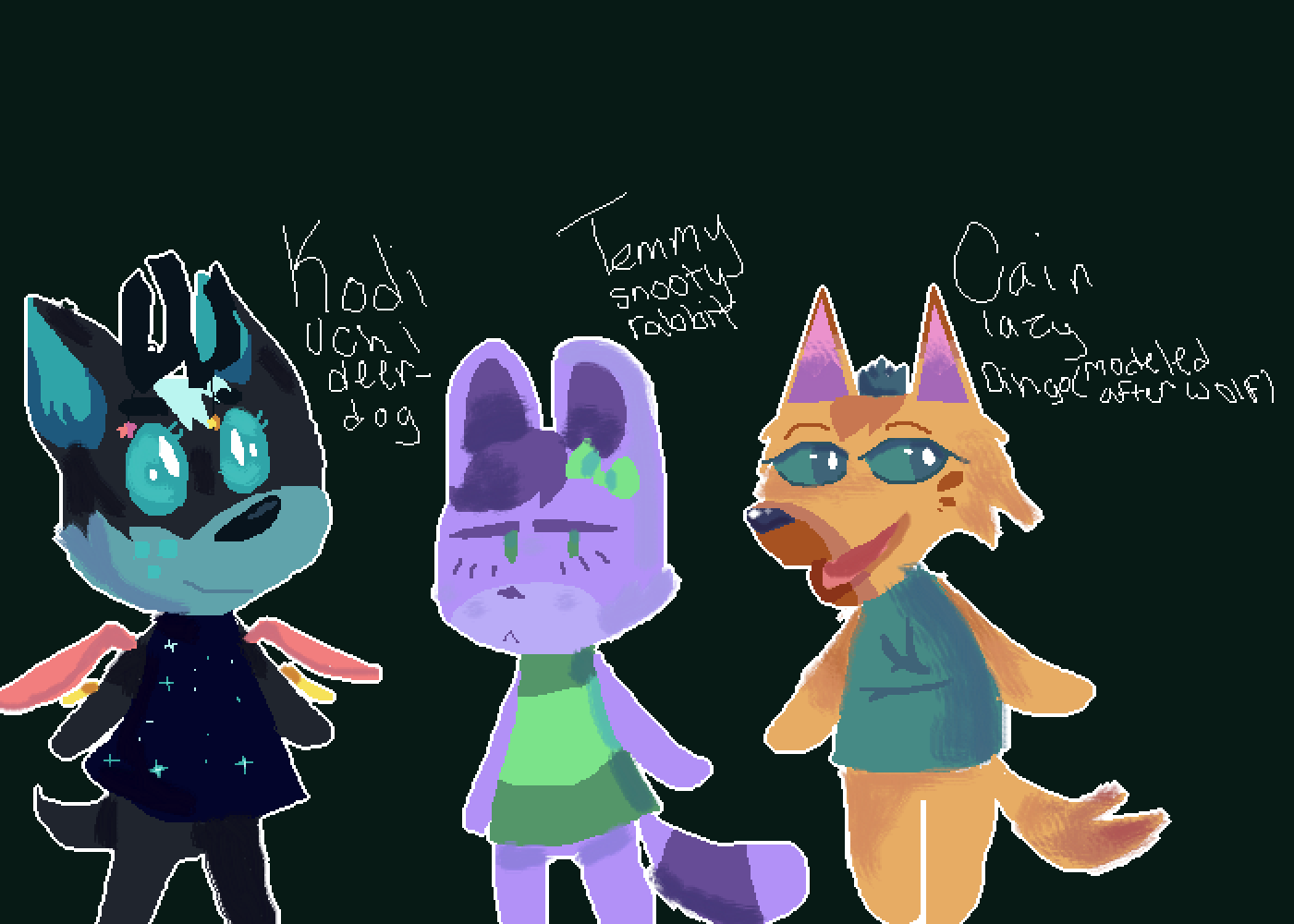 main-image-My ocs as Animal Crossing villagers!   by StarCrush