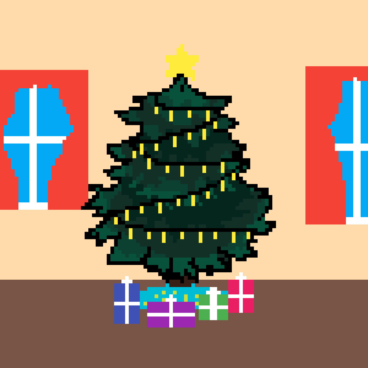 Christmas tree by 12507042