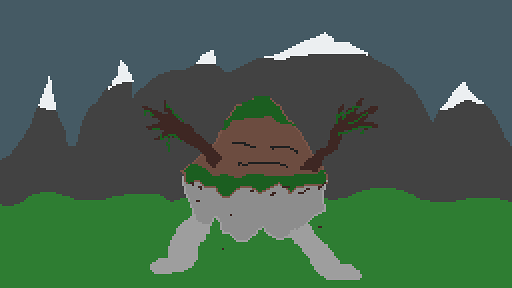 Mountain Guy by MakingVideoGame