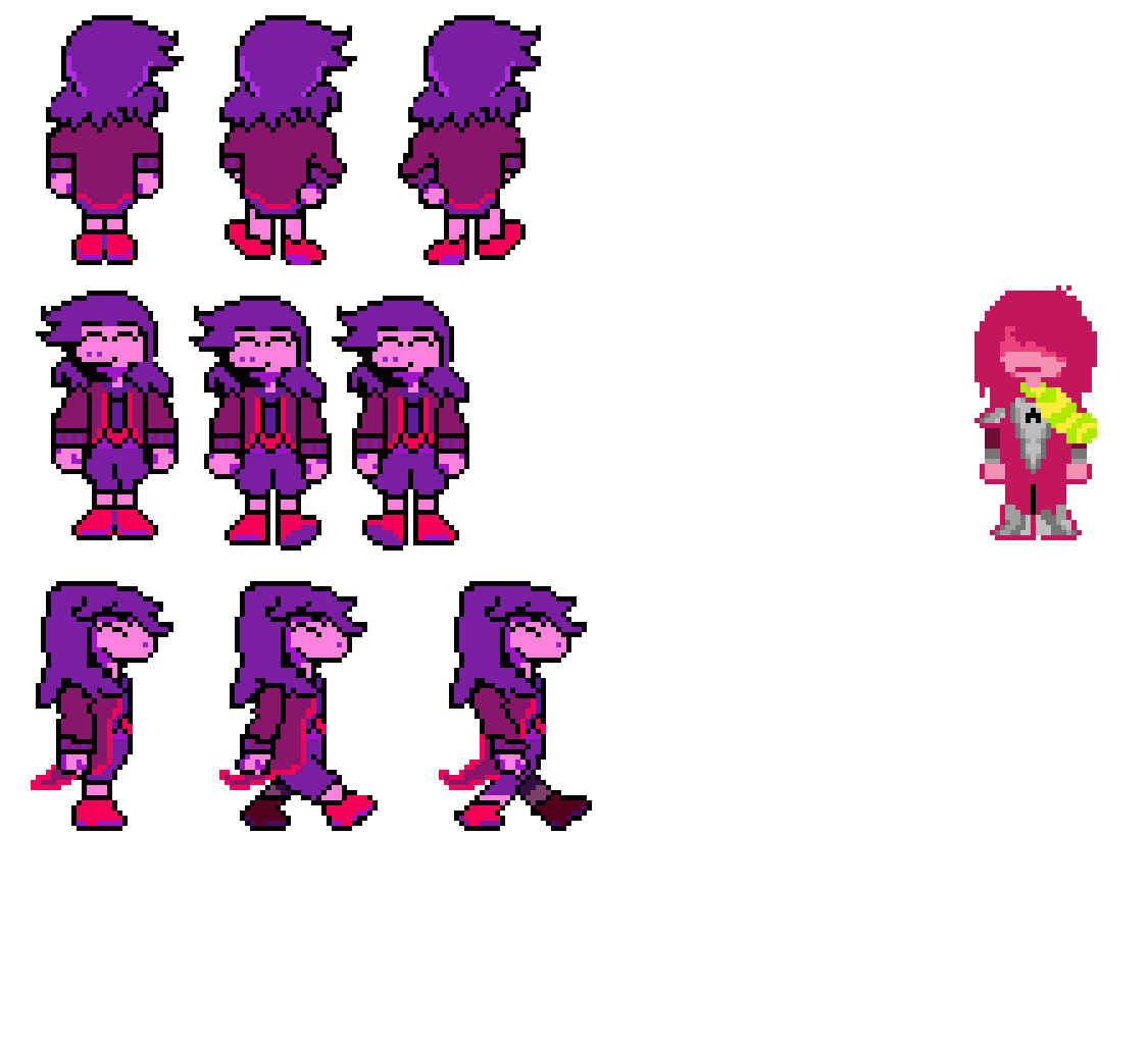sun warped - new sprites?!?! by CelestialDark
